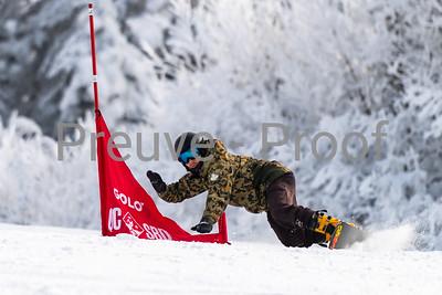 Mont-Tremblant, QC, Canada  - January 5 2021:  Snowboard Québec   Photo by:  Gary Yee (garyphoto.ca)