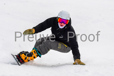 Mont-Tremblant, QC, Canada  - January 6 2021:  Snowboard Québec   Photo by:  Gary Yee (garyphoto.ca)