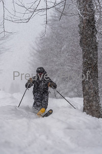 Mont-Tremblant, QC, Canada  - January 16 2021:  Tremblant Action Windigo   Photo by:  Gary Yee (garyphoto.ca)