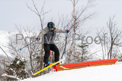 Mont-Tremblant, QC, Canada  - January 30 2021:  Tremblant Parc Sud   Photo by:  Gary Yee (garyphoto.ca)