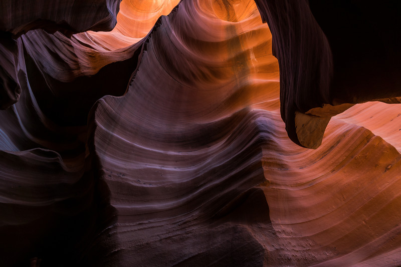 Lower Antelope Canyon, Navajo Nation, Page, Arizona (2016)