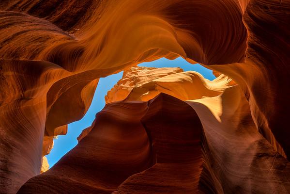 Lower Antelope Canyon, Navajo Nation, Page, Arizona (2016)