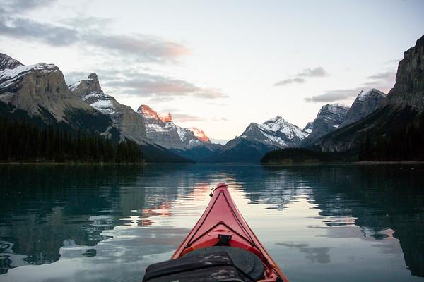 Alberta View from the Kayak