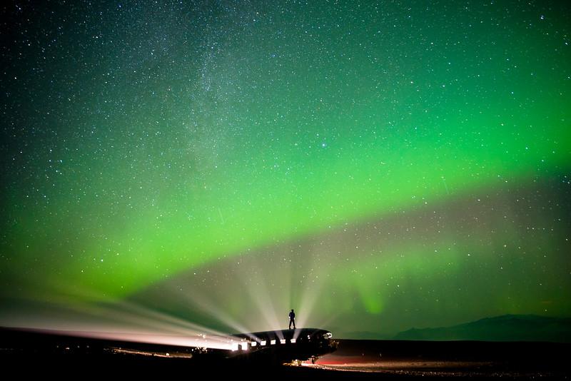 Northern Lights Plane Crash Site