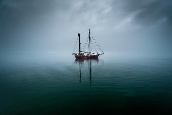 Iceland Westfjord Sailboat