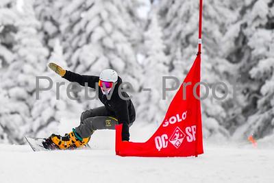 Mont-Tremblant, QC, Canada  - January 6 2021:  Snowboard Québec   Photo by:  Gary Yee (garyphoto.ca)
