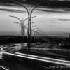 Sakonnet Bridge in Black and White