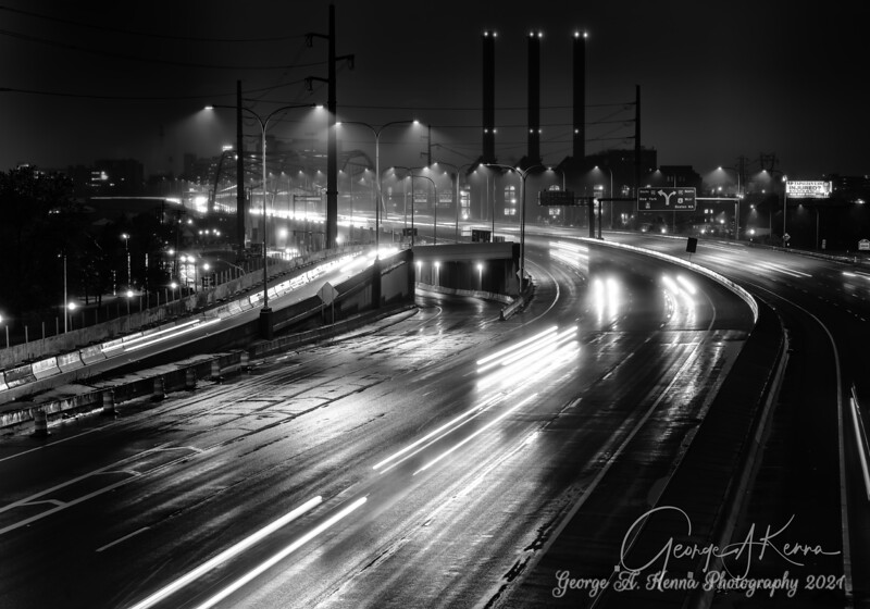 Rt 95 in the rain