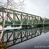 Berlin NH Bridge in Autumn