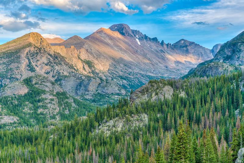 Longs Peak & Glacier Gorge