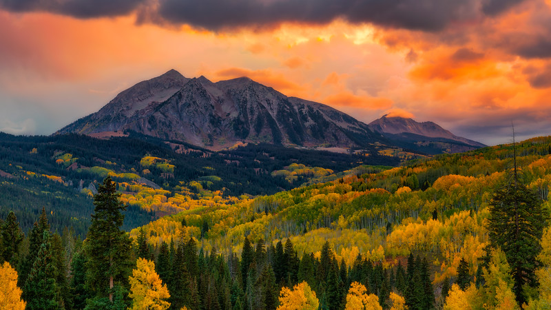 West Elk Mountains, Colorado