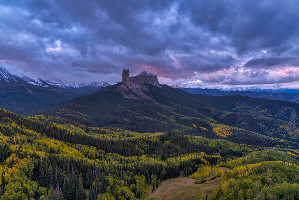 Chimney Rock & Courthouse Mountain