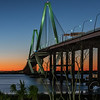 The Ravenel Bridge at Sunset