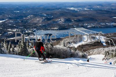 Mont-Tremblant, QC, Canada - December 28 2019:   Club De Ski at Tremblant  Photo par:  Gary Yee