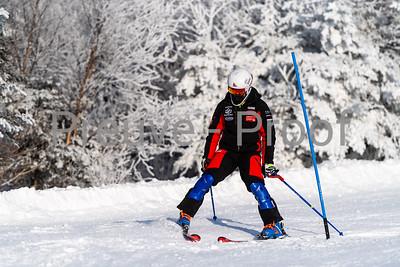 Mont-Tremblant, QC, Canada - December 27 2020:   Club De Ski Mont-Tremblant in Alpine Haut  Photo by:  Gary Yee (garyphoto.ca)