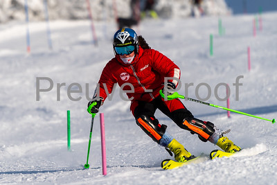 Mont-Tremblant, QC, Canada - December 27 2020:   Club De Ski Mont-Tremblant in Alpine Haut  Photo by:  Gary Yee (garyphoto.ca)