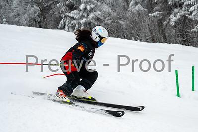 Mont-Tremblant, QC, Canada  - January 2 2021:  Club De Ski Mont-Tremblant entrainement Rigodon  Photo by:  Gary Yee (garyphoto.ca)