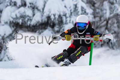 Mont-Tremblant, QC, Canada  - January 19 2021:  Ski Études   Photo by:  Gary Yee (garyphoto.ca)
