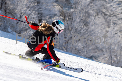 Mont-Tremblant, QC, Canada  - February 17 2021:  Club De Ski Mont-Tremblant   Photo by:  Gary Yee (garyphoto.ca)