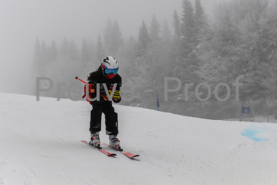 Mont-Tremblant, QC, Canada  - February 23 2021:  Club De Ski Mont-Tremblant Camp De Vitesse in Jasey Jay Anderson  Photo by:  Gary Yee (garyphoto.ca)
