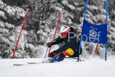 Mont-Tremblant, QC, Canada  - February 24 2021:  Club De Ski Mont-Tremblant Camp De Vitesse in Jasey Jay Anderson  Photo by:  Gary Yee (garyphoto.ca)