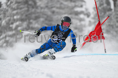 Mont-Tremblant, QC, Canada  - February 25 2021:  Club De Ski Mont-Tremblant Camp De Vitesse in Jasey Jay Anderson  Photo by:  Gary Yee (garyphoto.ca)