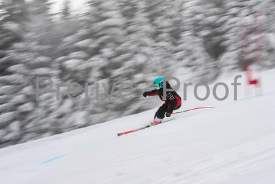 Mont-Tremblant, QC, Canada  - February 28 2021:  Club De Ski Mont-Tremblant   in Jasey Jay Anderson  Photo by:  Gary Yee (garyphoto.ca)