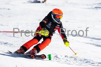 Mont-Tremblant, QC, Canada March 20 2021 - Club De Ski Mont-Tremblant training on Erik Guay at Tremblant  Photo:  Gary Yee (garyphoto.ca)