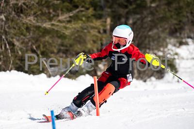 Mont-Tremblant, QC, Canada March 21 2021 - Club De Ski Mont-Tremblant training on Erik Guay at Tremblant  Photo:  Gary Yee (garyphoto.ca)