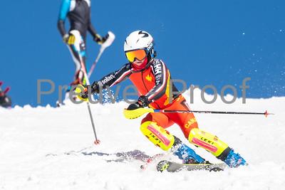 Mont-Tremblant, QC, Canada March 21 2021 - Club De Ski Mont-Tremblant U14 training on Erik Guay at Tremblant  Photo:  Gary Yee (garyphoto.ca)