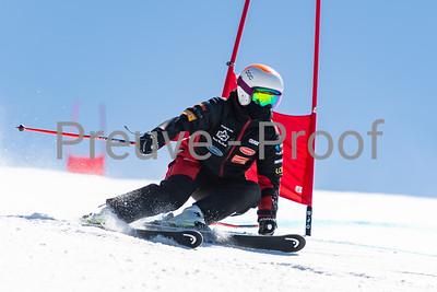 Mont-Tremblant, QC, Canada April 03 2021 - Club De Ski Mont-Tremblant training on McCulloch at Tremblant  Photo:  Gary Yee (garyphoto.ca)