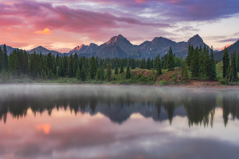 Molas Lake & Needle Mountains