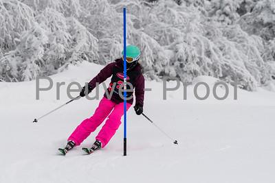 Mont Tremblant, Quebec - January 6 -  Haute Performance SL at Tremblant  on Alpine (Photo par:  Gary Yee)