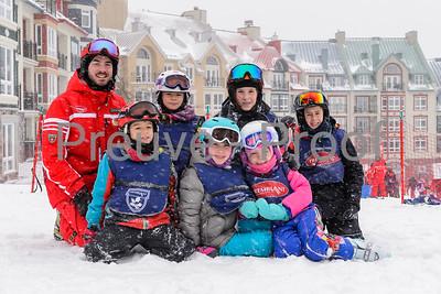 Mont-Tremblant, QC, Canada - December 31 2019:   ESN Ski Week at Tremblant  Photo par:  Gary Yee