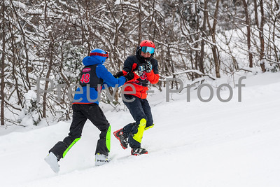 Mont-Tremblant, QC, Canada - January 5 2020:   ESN HP SL on Rigodon at Tremblant  Photo par:  Gary Yee