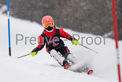 Mont-Tremblant, QC, Canada - February 2 2020:   Course SL Performance C on Rigodon at Tremblant  Photo par:  Gary Yee