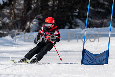 Mont-Tremblant, QC, Canada - February 23 2020:   Performance C GS on Devils River at Tremblant  Photo par:  Gary Yee