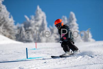Mont-Tremblant, QC, Canada - March 1 2020:   Club Performance A Kombi on Alpine Haut at Tremblant  Photo par:  Gary Yee