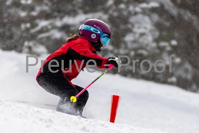 Mont-Tremblant, QC, Canada  - February 20 2021:  Club Élite training in Nansen Haut  Photo by:  Gary Yee (garyphoto.ca)