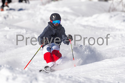 Mont-Tremblant, QC, Canada  - February 21 2021:  Equipe Des Bosses trains on Cossak  Photo by:  Gary Yee (garyphoto.ca)