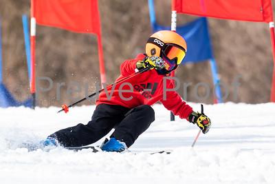 Mont-Tremblant, QC, Canada April 04 2021 - ESN Club Elite duel training on Rigodon at Tremblant  Photo:  Gary Yee (garyphoto.ca)