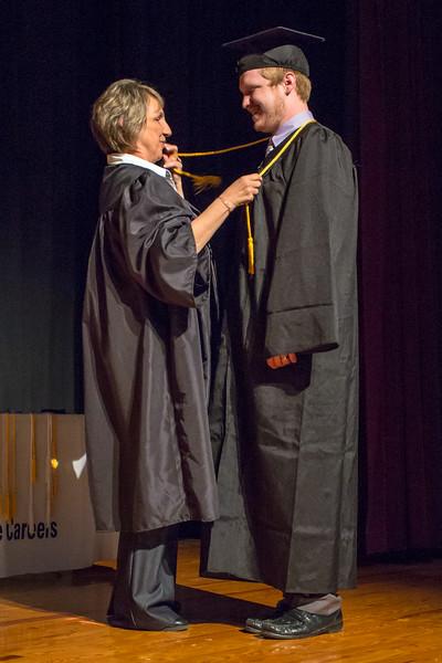 Platt College Graduation Ceremony, student No.01a