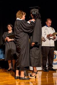 Platt College Graduation Ceremony, student No.12b