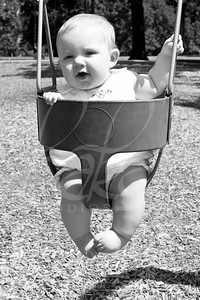Olivia Wofford, 6 Months, N.34 (grayscale)