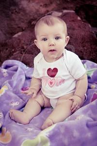 Olivia Wofford, 6 Months, N.08 (split tone)