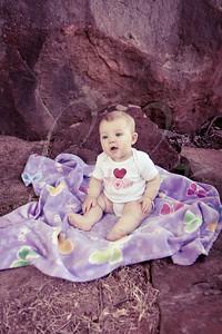 Olivia Wofford, 6 Months, N.03 (split tone)