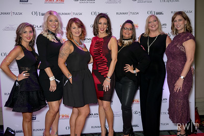 Runway Tulsa 2017 from the red carpet