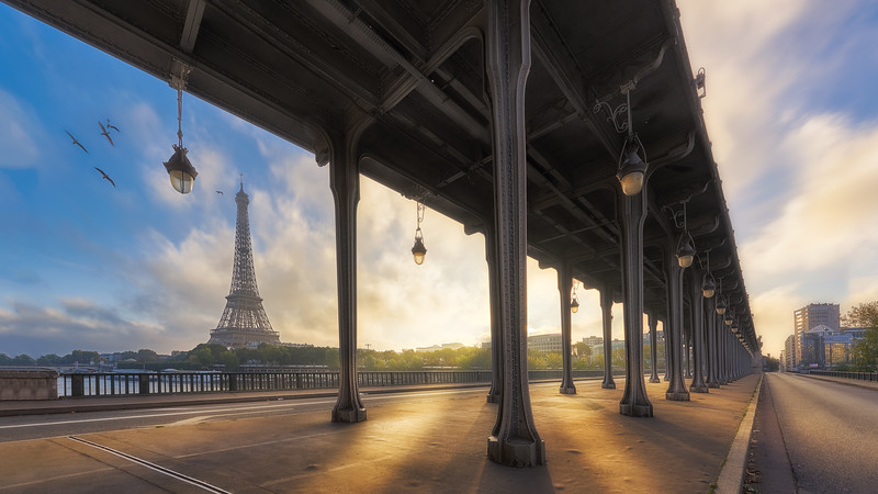 Inception bridge    Paris