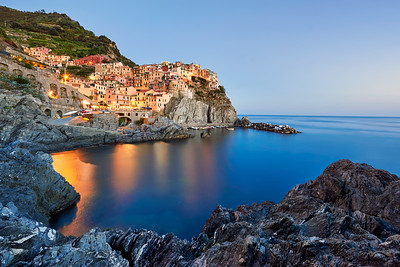 Summer evening in Manarola