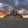 Walking around the Mont Saint-Michel || France